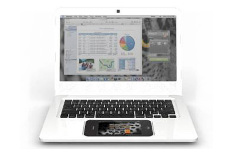 Laptop na bazie iPhone\'a