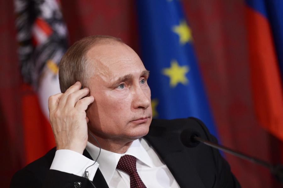 Władimir Putin w Austrii