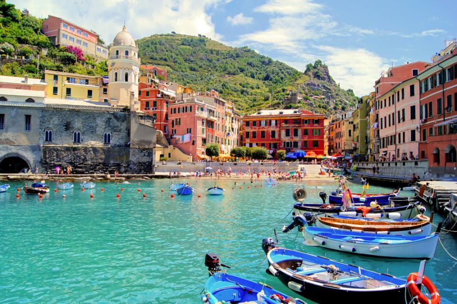 Wioska we Włoszech