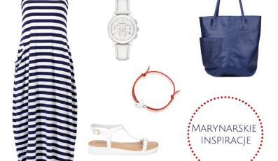 STYLIZACJE na wakacje 2014: marynarskie inspiracje