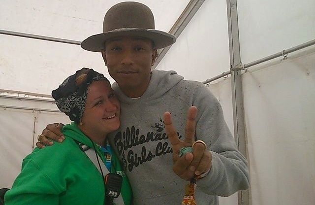 Pharrell Williams i Kasia \