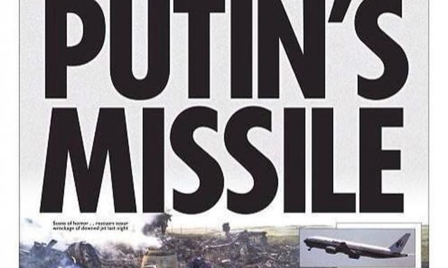 Świat w szoku. Okładki gazet po zestrzeleniu pasażerskiego samolotu. ZDJĘCIA