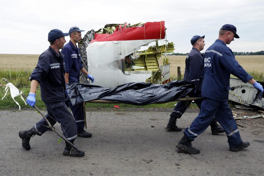 Transport ofiar katarstrofy samolotu Malaysia Airlines MH17