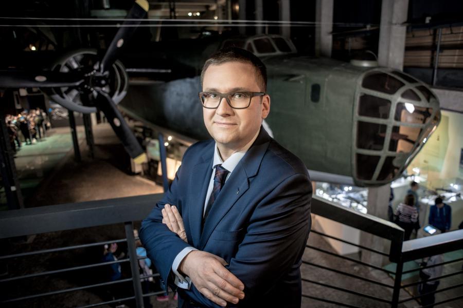 Jan Ołdakowski, dyrektor Muzeum Powstania Warszawskiego