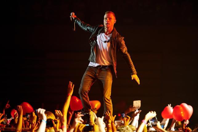 Backstreet Boys podczas koncertu w gdańskiej Ergo Arenie