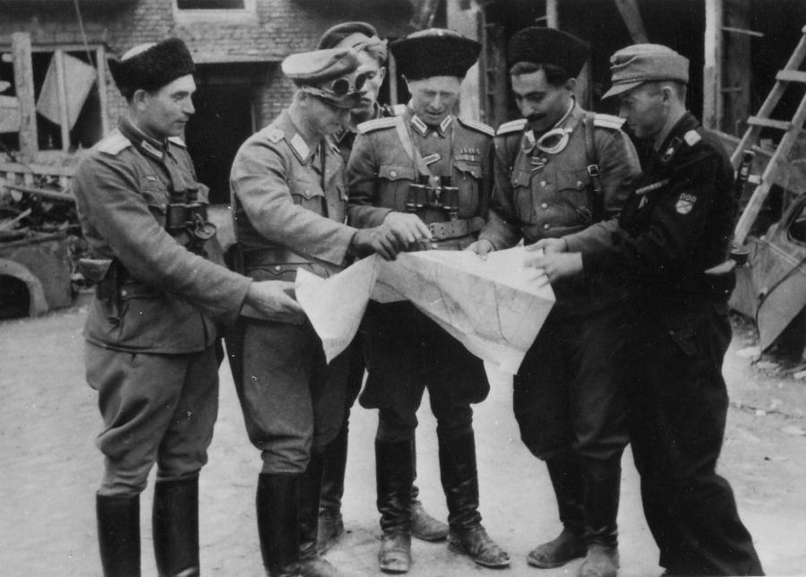 Kaci Warszawy: Major Iwan Frołow i oficerowie brygady RONA