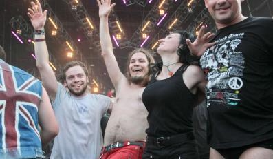 Uczestnicy XX Przystanku Woodstock