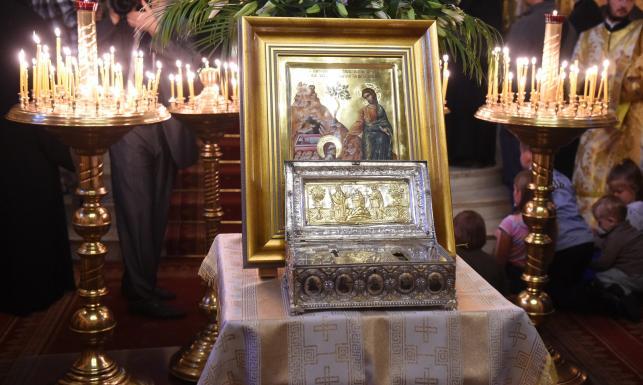 Dłoń świętej Marii Magdaleny i fragment krzyża Chrystusa. Relikwie przyleciały do Polski