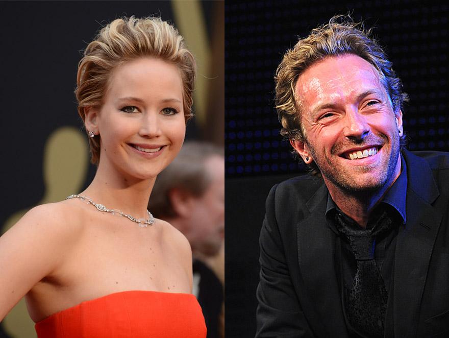 Jennifer Lawrence i Chris Martin jednak razem