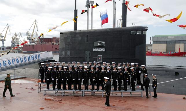 Flota Czarnomorska przyjęła do służby nowy okręt podwodny