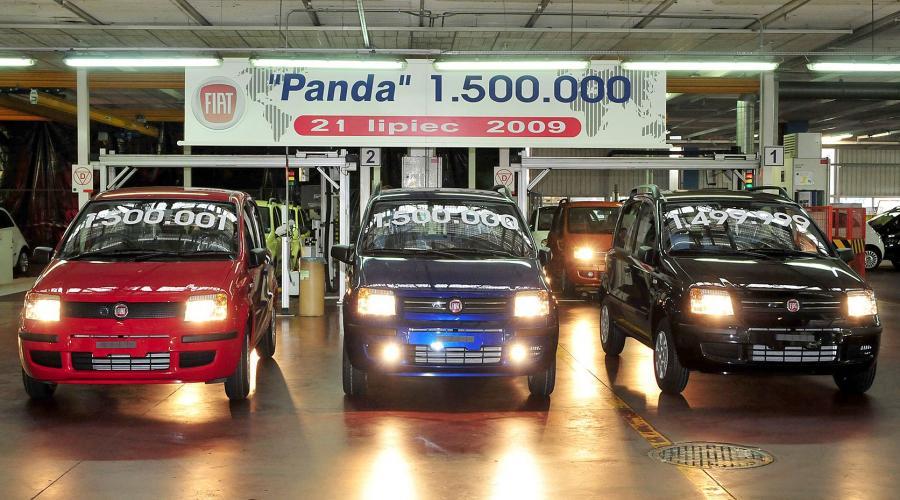 Licznik fabryki Fiat Auto Poland w Tychach pokazał 1 500 000 po sześciu latach produkcji