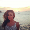 Nicole Scherzinger i zachód słońca na Ibizie...
