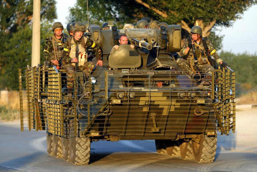 Ukraińskie wojsko w Mariupolu
