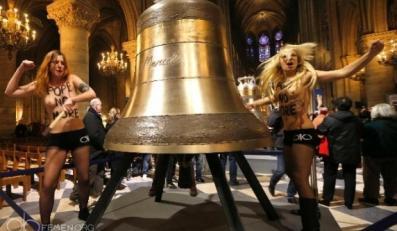 Femen w Paryżu