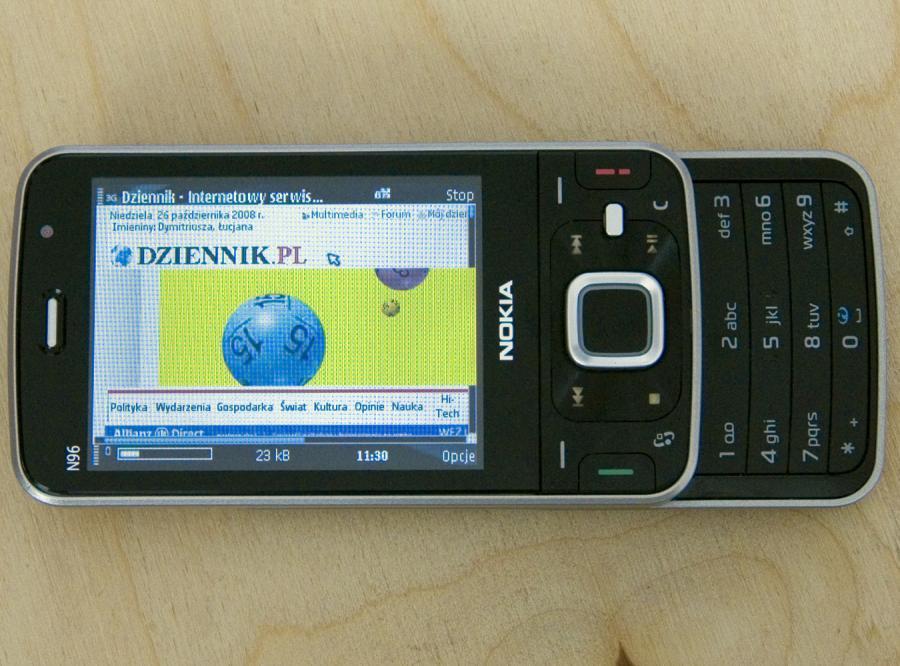 Zobacz, kto nie powinien kupować Nokii N96
