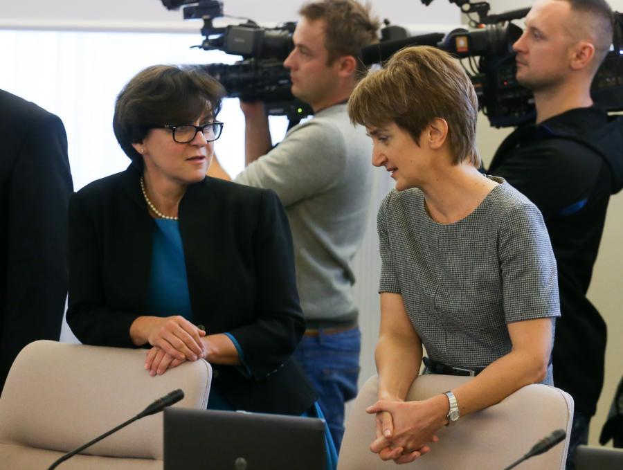 Joanna Kluzik-Rostkowska i Maria Wasiak
