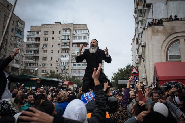 Żydzi świętują Rosz Haszana, czyli nowy rok 5775 na Ukrainie