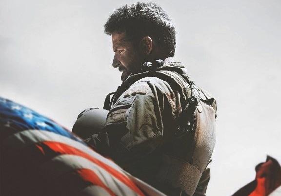 Bradley Cooper na plakacie zapowiadającym film \