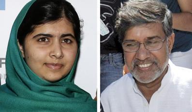 Malala Yousafzai i Kailash Satyarthi, laureaci Pokojowej Nagrody Nobla 2014
