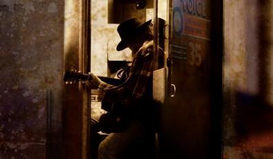 """Neil Young na okładce albumu """"A Letter Home"""""""