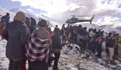 Akcja ratunkowa w Himalajach