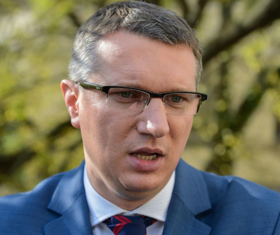 Wiceprezes Nowej Prawicy, kandydat na prezydenta Warszawy Przemysław Wipler