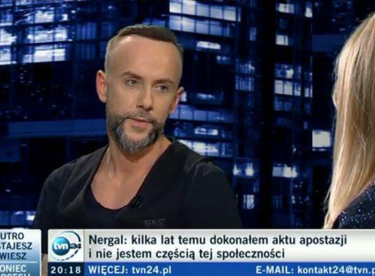 Nergal w programie Moniki Olejnik