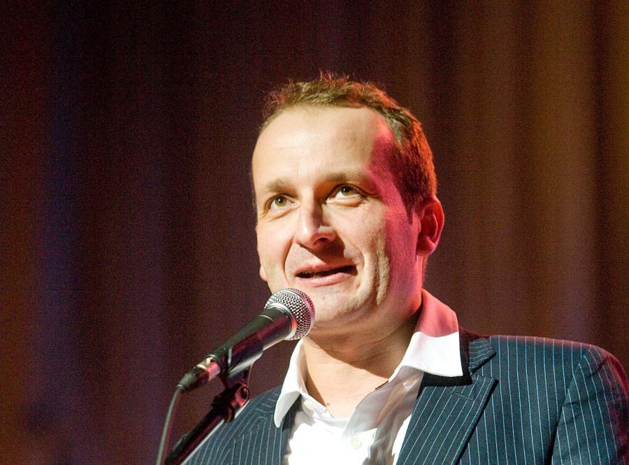 Robert Górski, satyryk z Kabaretu Moralnego Niepokoju