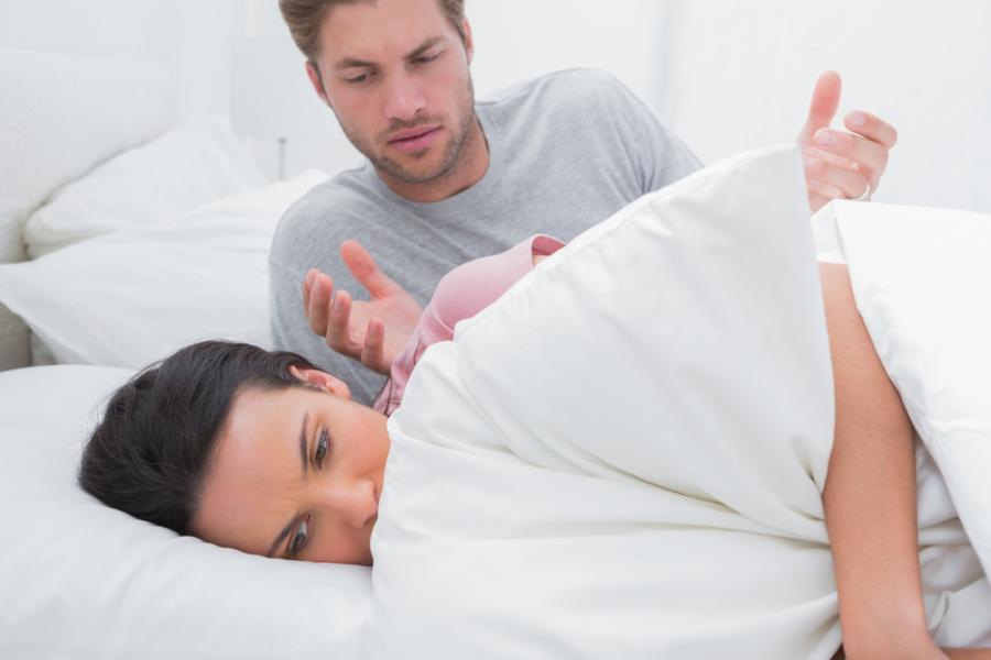 Absurdalne (zdaniem mężczyzn) powody, dla których partnerki odmawiają im seksu