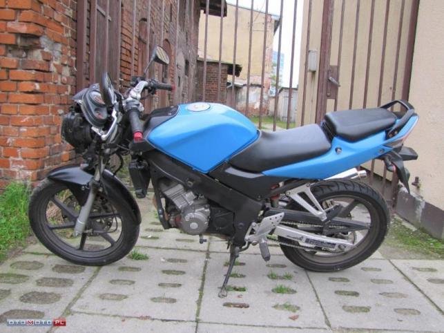 Jaki używany motocykl 125 ccm do 5 tys. zł?