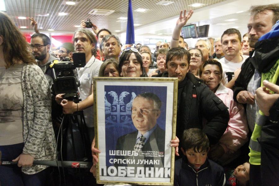 Vojislav Szeszelj wyszedł na wolność