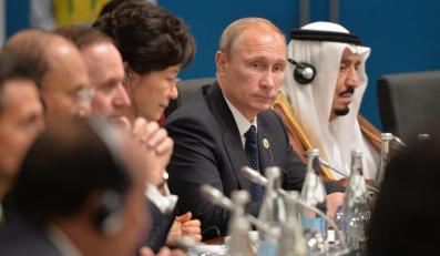 Władimir Putin w Brisbane