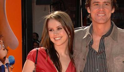Jim Carrey dumny z piosenek córki