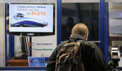Kasy biletowe na Dworcu Centralnym w Warszawie