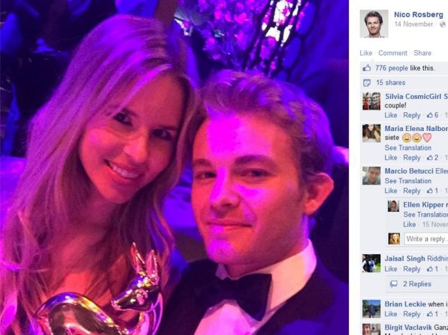 Vivian Sibold i Nico Rosberg