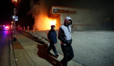 Zamieszki w Ferguson w USA