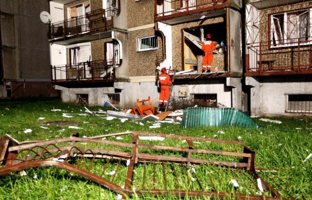 Budynek w Bytomiu, w którym wybuchł gaz