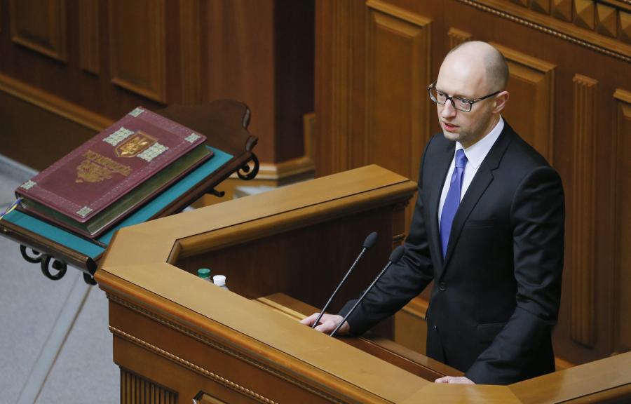 Arsenij Jaceniuk nowym premierem Ukrainy