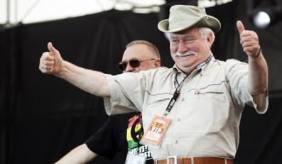 Wałęsa wystąpił na Woodstock za... 12 zł
