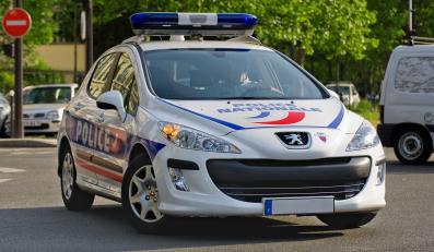 Radiowóz francuskiej żandarmerii
