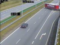 Najbardziej szokujące wyczyny kierowców na polskich autostradach. WIDEO