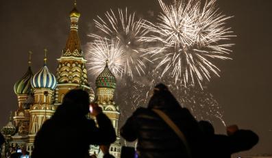 Rosjanie świętowali Nowy Rok