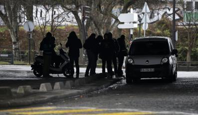 Francuscy policjanci
