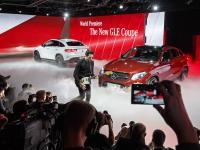 Nowy mercedes GLE coupe prosto z salonu samochodowego w Detroit. ZDJĘCIA