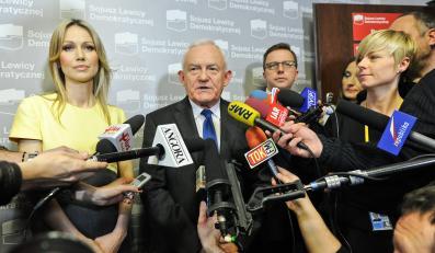 Leszek Miller, Dariusz Joński i Magdalena Ogóek