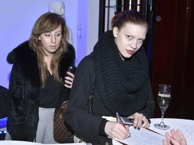 Aleksandra Linda (po prawej)