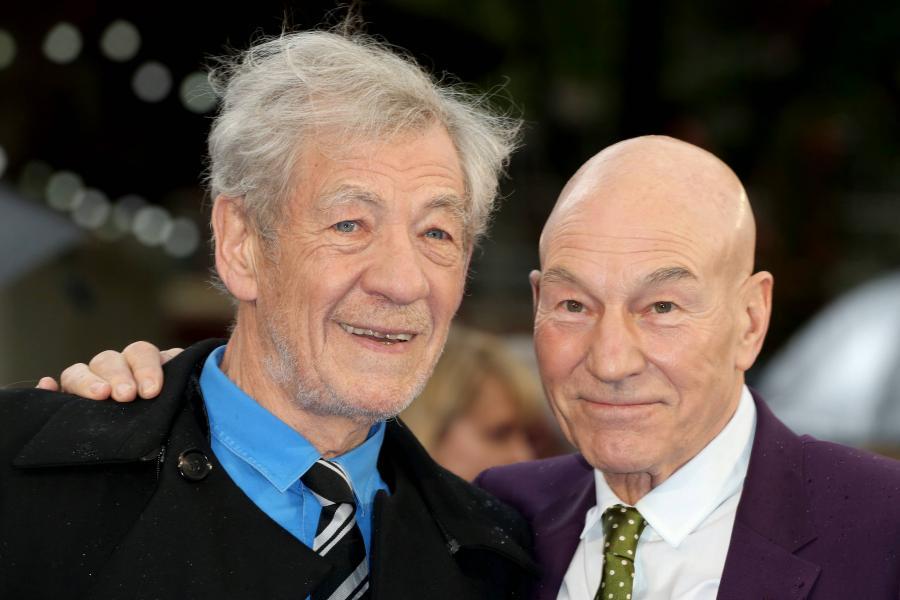 Patrick Stewart i Ian McKellen nie zagrają w \