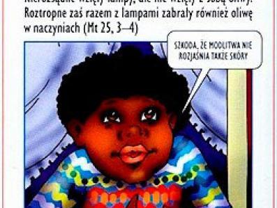 Kościół rozdaje dzieciom rasistowską ulotkę