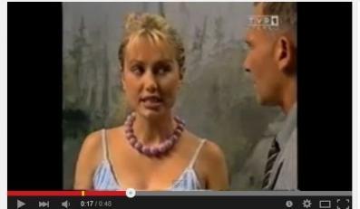 "Magdalena Ogórek w serialu ""Lokatorzy"""