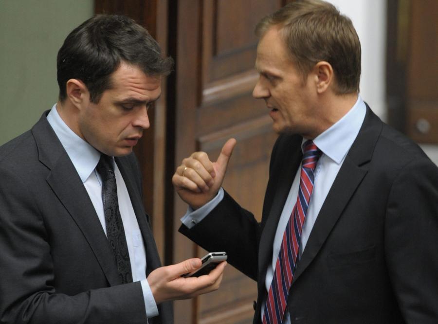 Sławomir Nowak ma bardzo silną pozycję w ekipie premiera Tuska